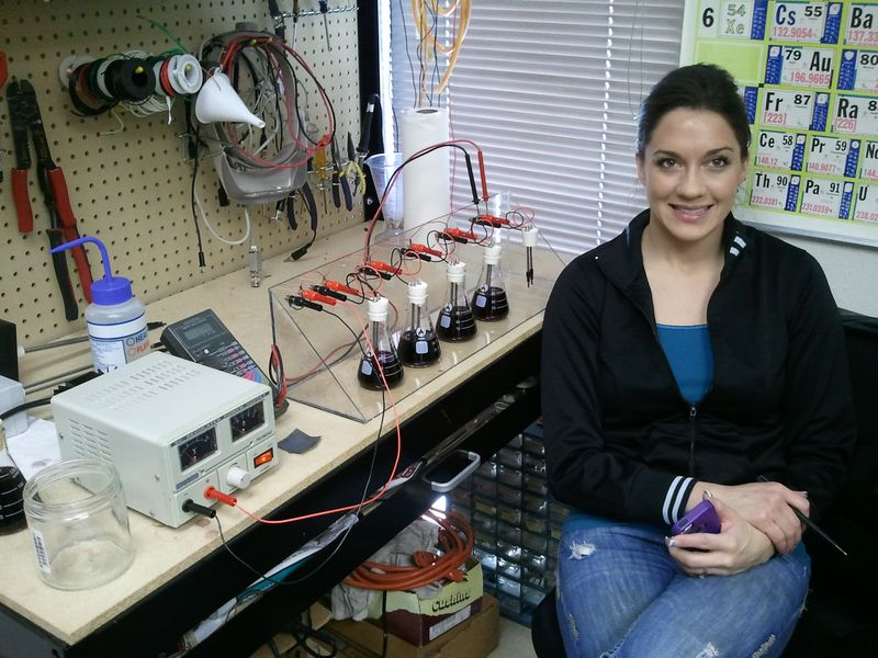 My Assistant with Test Rig